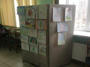 """выставка детского рисунка """"Не губите лес"""""""